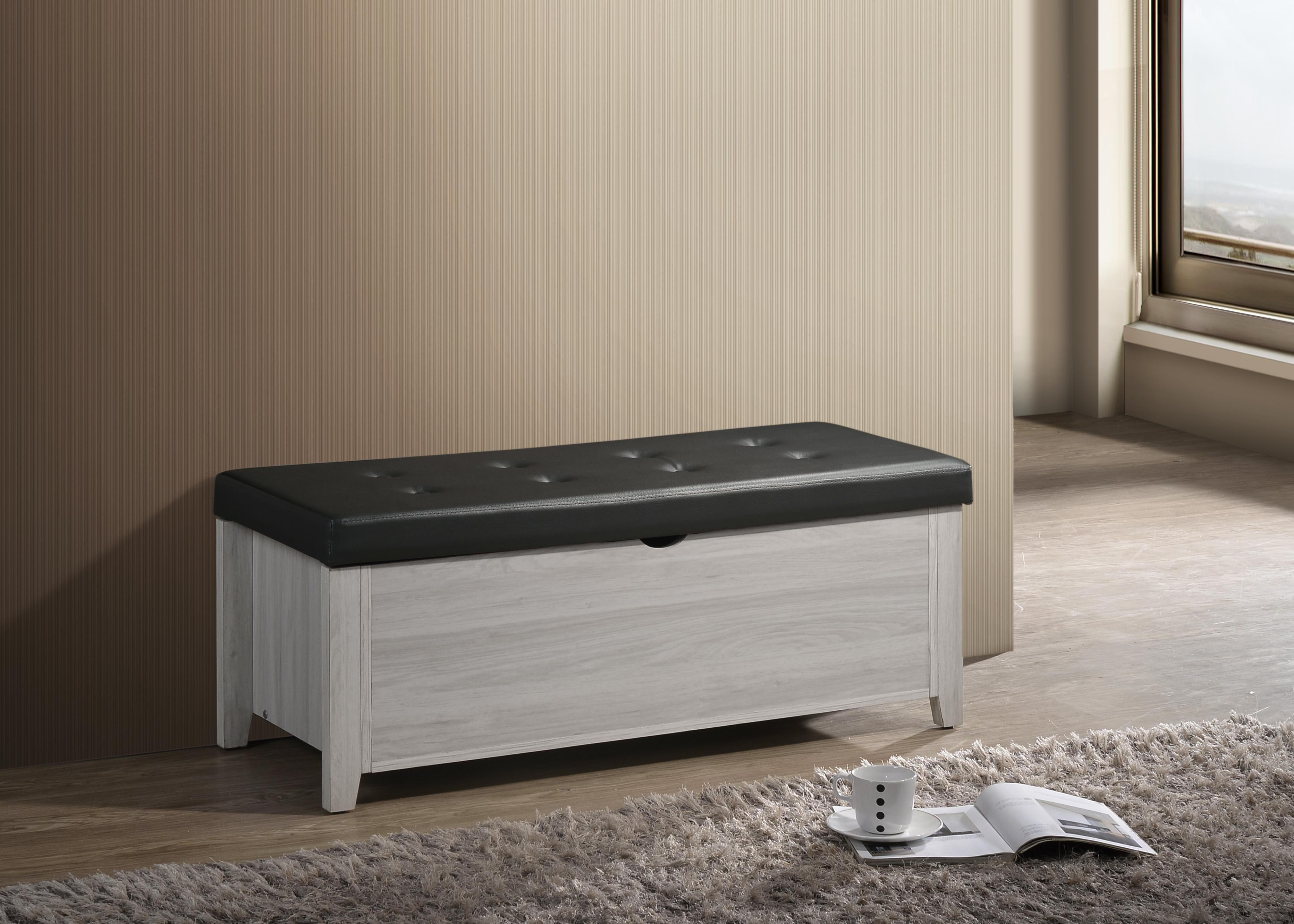 blanket box ottoman storage w leather bench bed foot stool chest toy ottomans footstools poufs