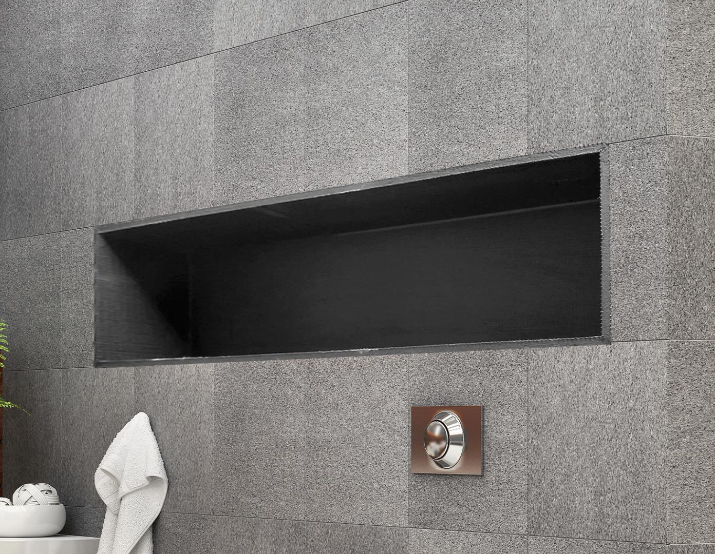 shower niche 250 x 900 x 92mm prefabricated wall bathroom renovation