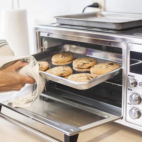 24cm x 33cm small quarter sheet pan rack set kitchenatics roasting baking sheet with cooling rack small quarter sheet size aluminium cookie