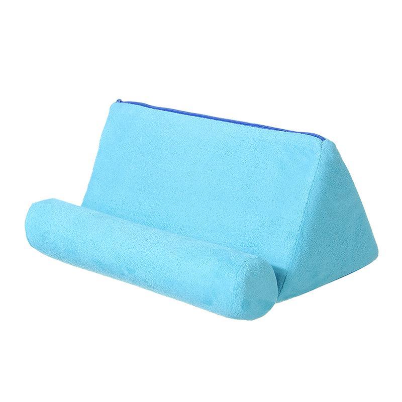 Tablet Pillow Holder Stand Foam Book Rest Reading Bed Support Cushion For Ipad Matt Blatt