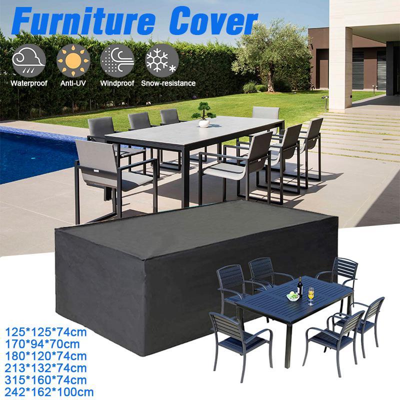 waterproof garden patio furniture protector outdoor table bench bbq rain cover