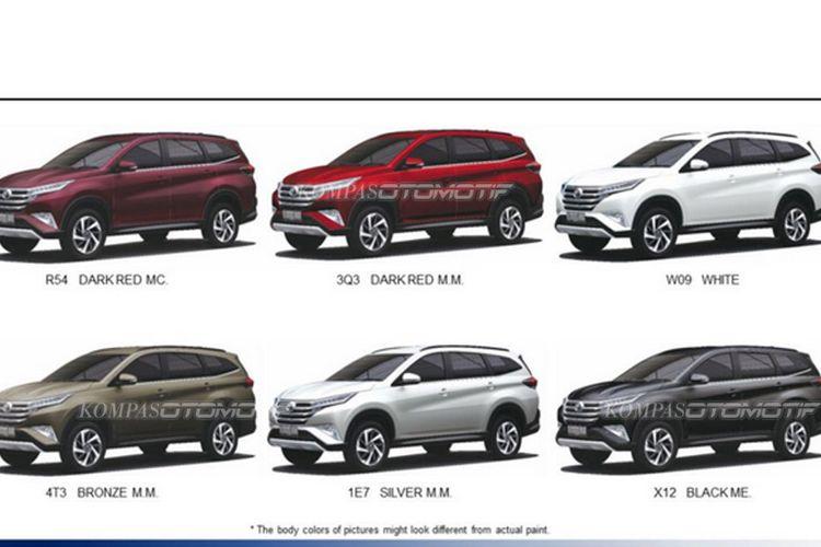 foto grand new avanza 2018 interior veloz 1.3 generasi terbaru toyota rush pakai mesin - kompas.com