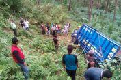 Truk Pasir Masuk Jurang di Ponorogo, Sang Sopir Tewas
