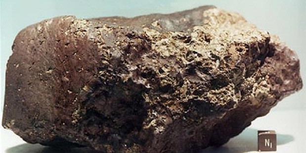 Ini Ciriciri Meteorit yang Jatuh ke Bumi  Kompascom
