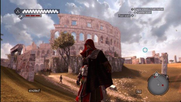 Colosseum dalam game Assassins Creed: Brotherhood