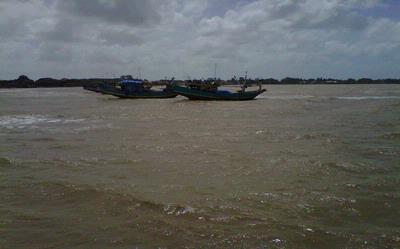Enam Kapal Berlindung di Pulau Panjang Jepara