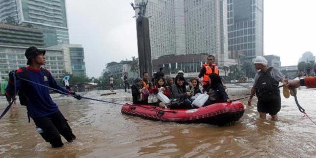 Warga yang Meninggal dalam Banjir Jakarta