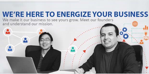 CEO Adskom Italo Gani (kanan) dan CTO Daniel Armanto