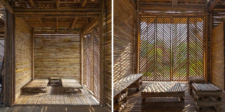 Rumah Bambu yang Hangat dan Tahan Banjir  Kompascom