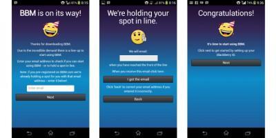 BBM di Iphone dan Android Oktober 2013