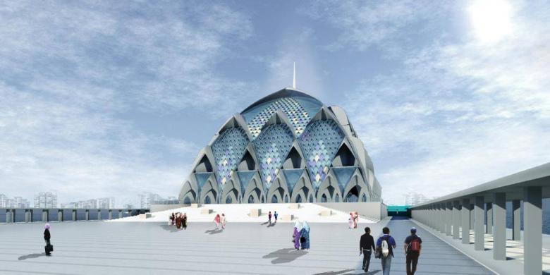 Jabar Akan Dirikan Masjid Terapung dengan Arsitek Ridwan