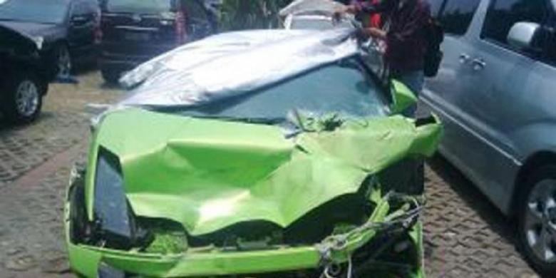 Hotman Paris Lamborghini Kecelakaan