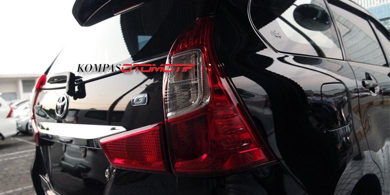 lampu belakang grand new avanza harga veloz 2015 lihat tampang asli [foto] - kompas.com