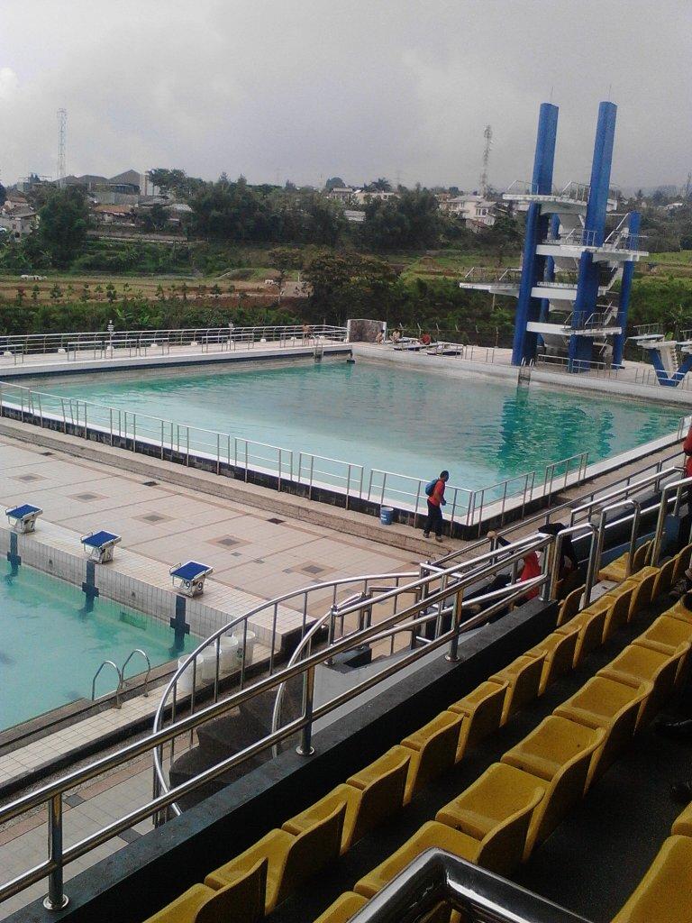 Kolam Renang Upi : kolam, renang, Jelang, PON-PEPARNAS, 2016,, Intip, Persiapannya, Halaman, Kompasiana.com