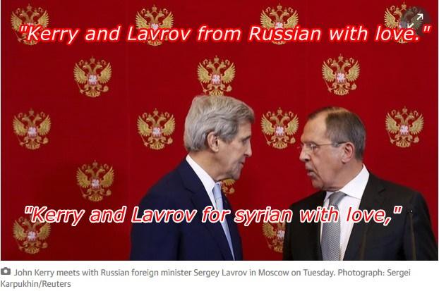 Jhon Kerry saat kunjungan ke Moskow 15 Des 2015 Sumber: The Guardian.com. Edit abanggeutanyo