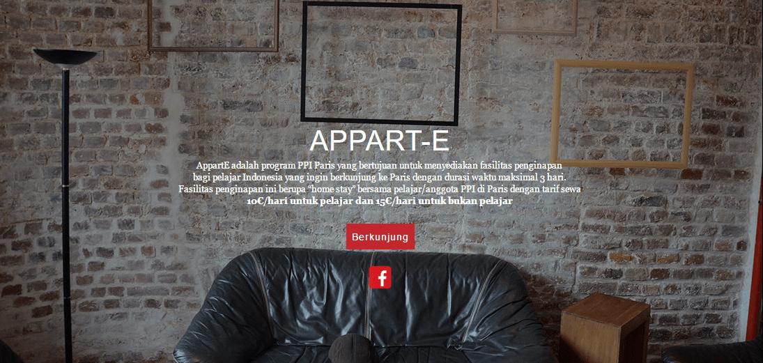 Appart-E, fasilitas penginapan yang dikelola oleh para mahasiswa Indonesia di Paris. (foto sumber: ppiparis.fr)