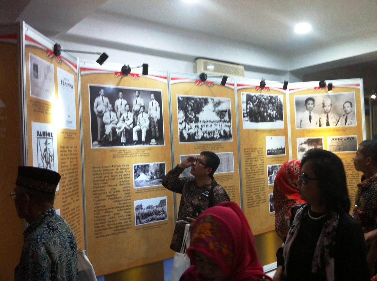 Suasana pameran tokoh Dokter Moewardi. (Foto: BDHS)
