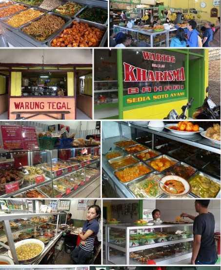 Koleksi Pribadi | Makanan di Warung Tegal