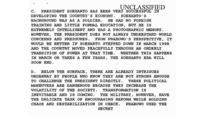 Foto/dokumen NSA tertanggal 07 Mei 1998