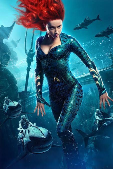 Pemeran Mera Aquaman : pemeran, aquaman, Gara-gara, Berulah,, Amber, Heard, Miller, Membunuh, Kariernya, Extended, Universe?, Halaman, Kompasiana.com