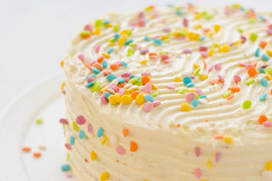 Easy Vanilla Birthday Cake Recipe Kraft Canada
