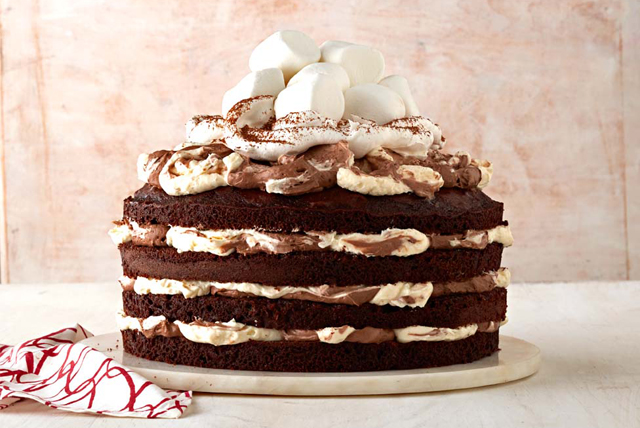 Hot Chocolate Torte Recipe  Kraft Canada