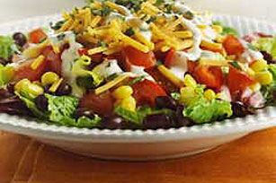 Southwestern Ranch Salad  Kraft Recipes