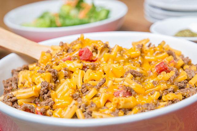 cheddar macaroni ground beef casserole kraft recipes