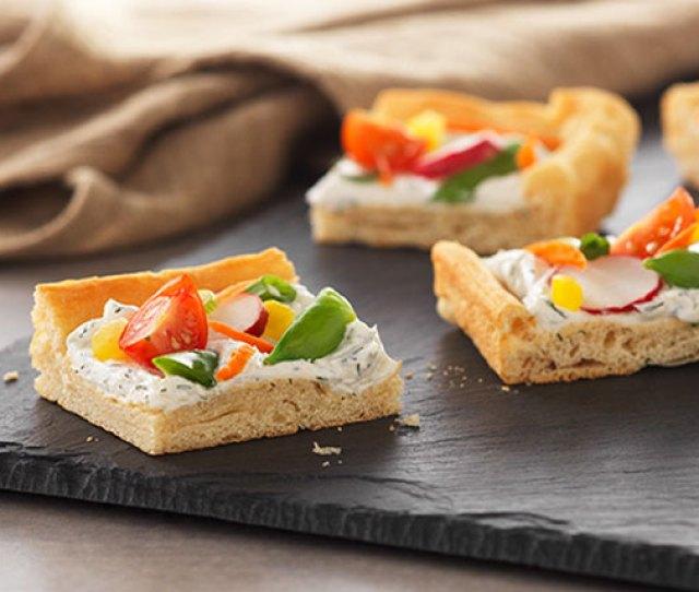 Spring Veggie Pizza Appetizer