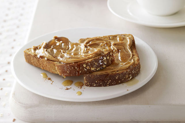 Sweet Peanut Butter Toast Recipe  Kraft Canada