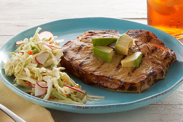 Grilled Pork Chops YucatanStyle  Kraft Recipes