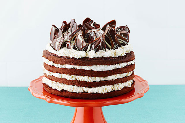 TripleChocolate Layer Cake  Kraft Recipes