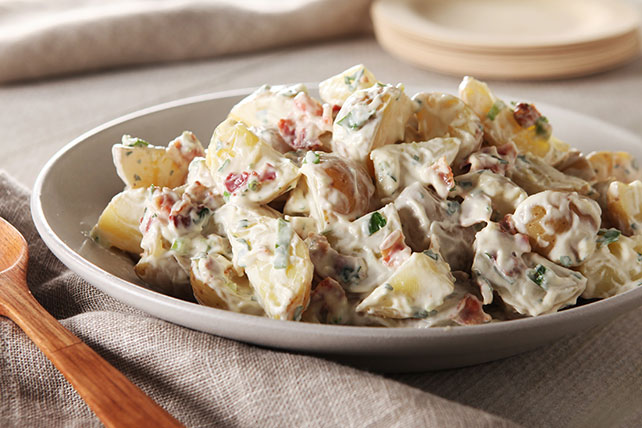 Crispy Bacon Potato Salad  Kraft Recipes