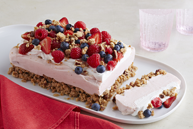 frozen yogurt berry dessert kraft recipes
