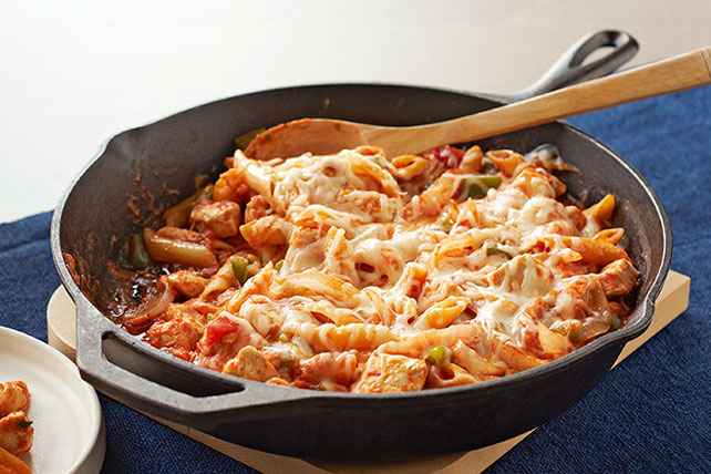 Italian ChickenPasta Skillet  Kraft Recipes