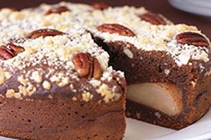Pear Coffee Cake Belle Helene Recipe Kraft Canada