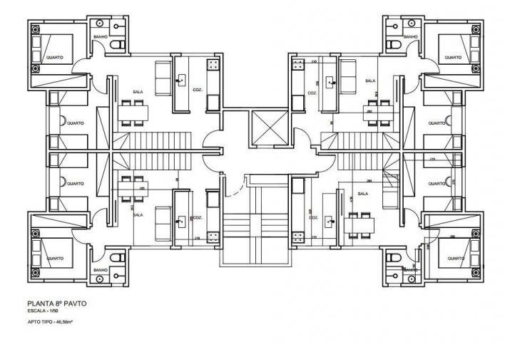 Apartamento de 2 quartos à venda no Colégio Batista, Belo