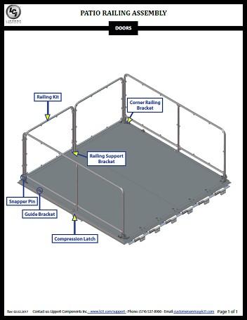 patio rail kits lippert customer support