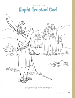 Nephi Coloring Page : nephi, coloring, Nephi, Trusted