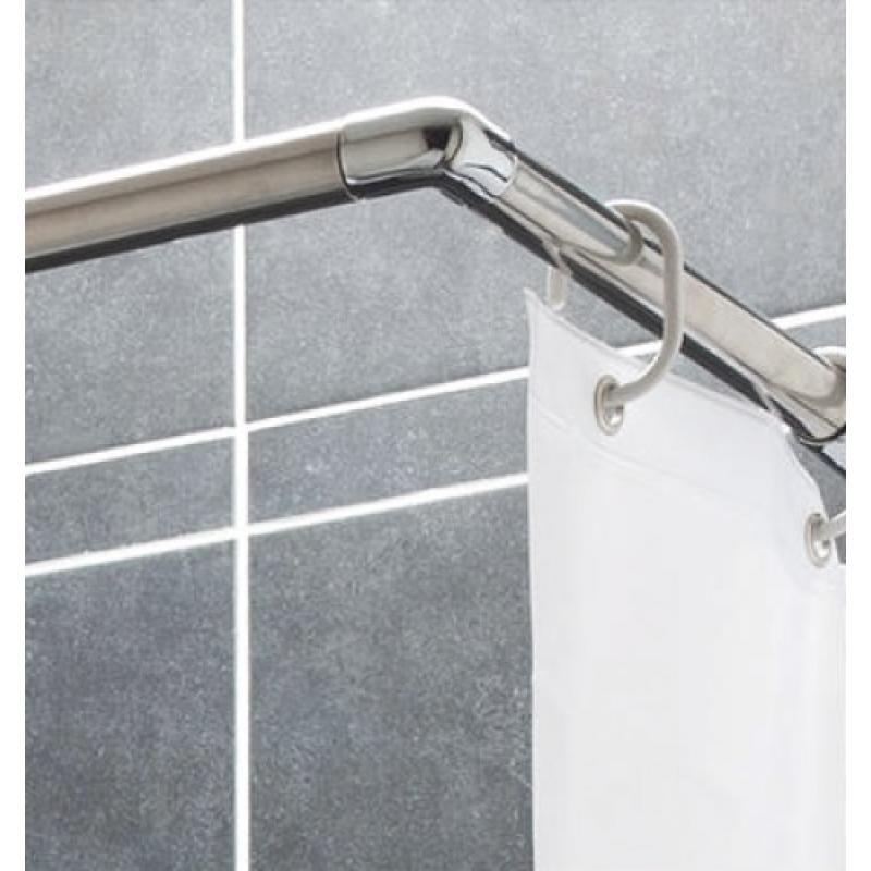 tringle d angle pour rideau de douche