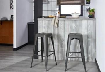 Monta una barra de cocina estilo industrial · LEROY MERLIN