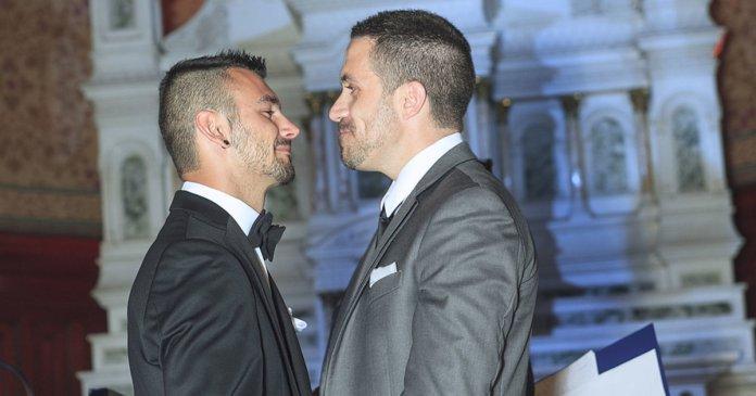 Mariage gay, tsunami d'émotions - Le Temps