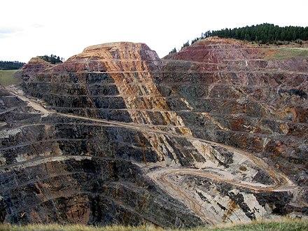 Homestake Mine, Photo Credit Rachel Harris