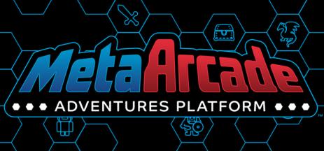 MetaArcade logo across a hex grid