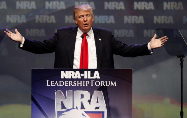 Trump Endorsed by NRA