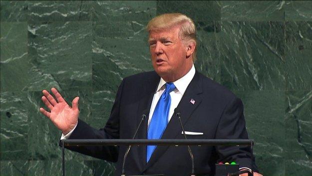 Trump at UN 2018