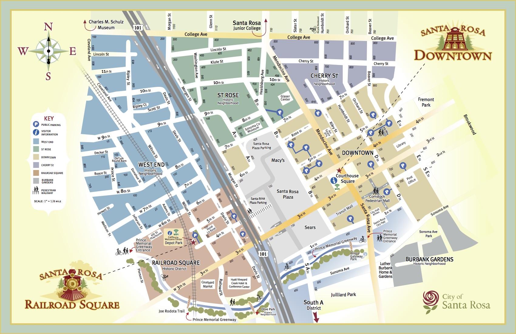Sdsu Campus Map Printable