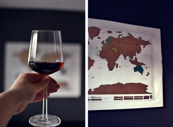 Raapusteltava maailmankartta