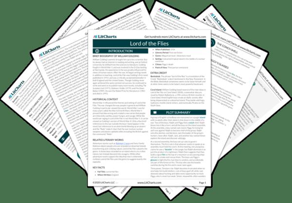 lord of the flies plot diagram 04 nissan frontier radio wiring chapter 4 summary analysis litcharts pdf medium