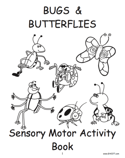 Sensory Motor Activity Books